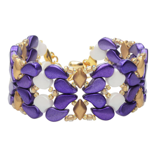 Paisley Princess Bracelet in Metalust Purple
