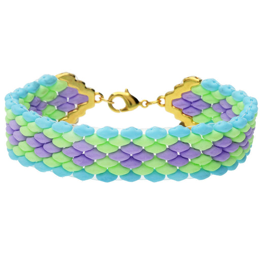 Summertime Party SuperDuo Bracelet in Gold