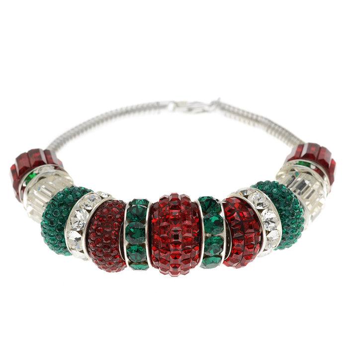 Retired - European Style SWAROVSKI ELEMENTS Christmas Bracelet