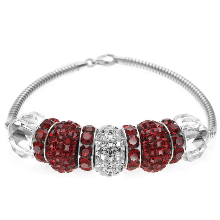 Retired - European Style SWAROVSKI ELEMENTS January / July Birthstone Bracelet