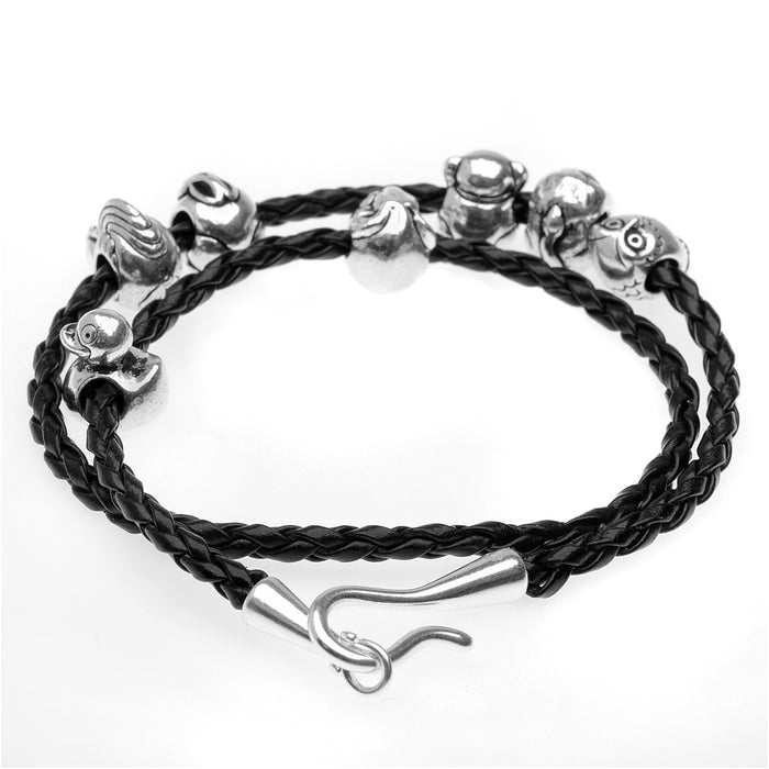 The Pewter Menagerie Bracelet