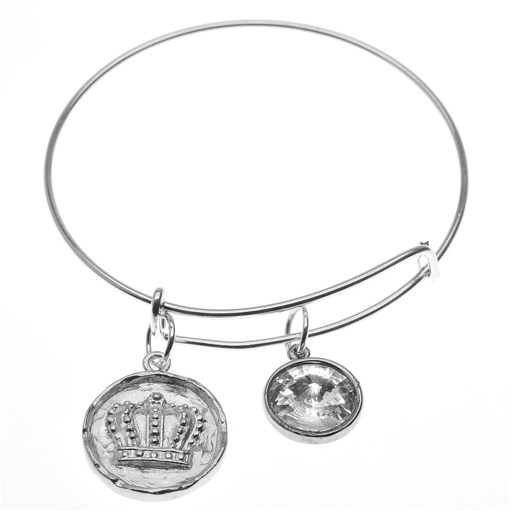 Retired - Fit for a Queen Adjustable Bangle