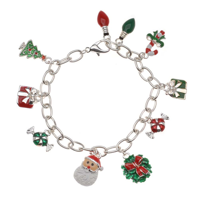 Retired - Christmas Charms Bracelet