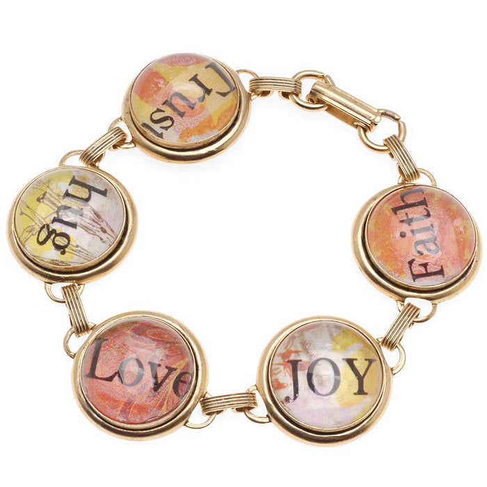 Retired - The Important Things in Life Bracelet