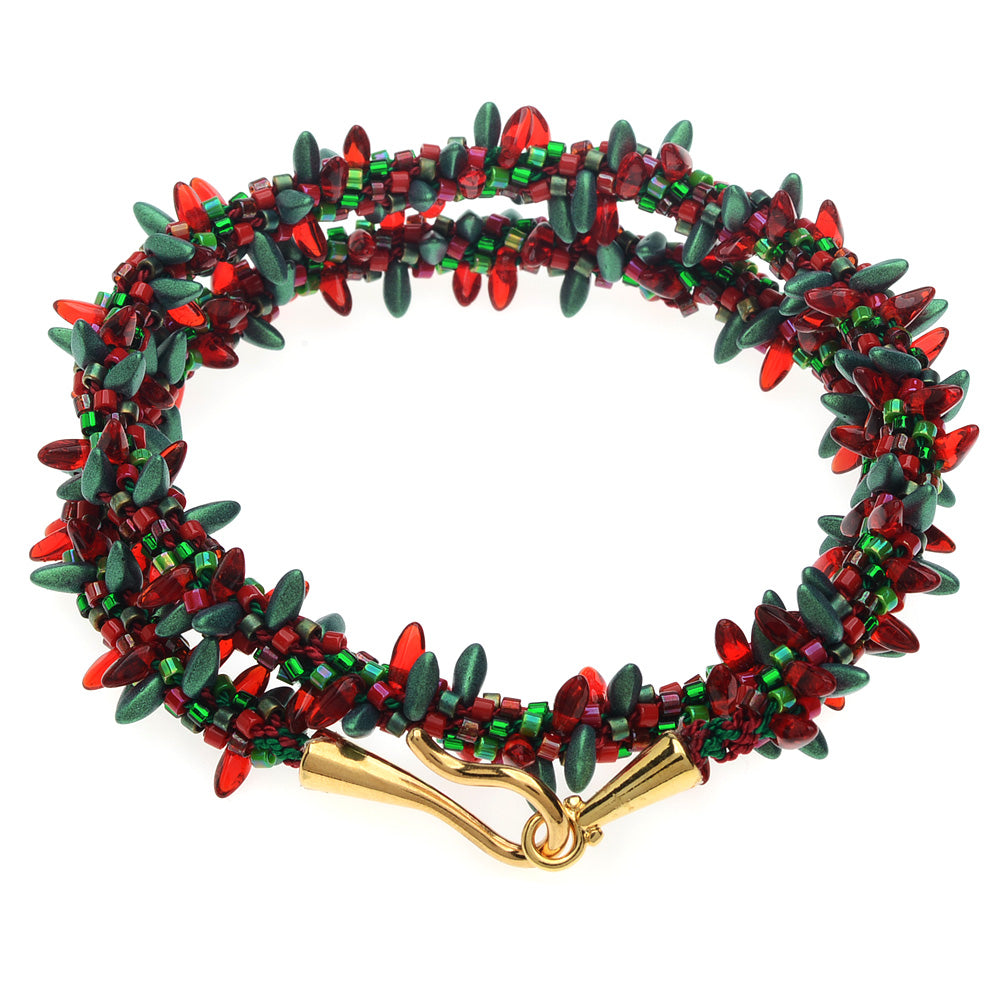Retired - Holiday Lights Wrap Bracelet