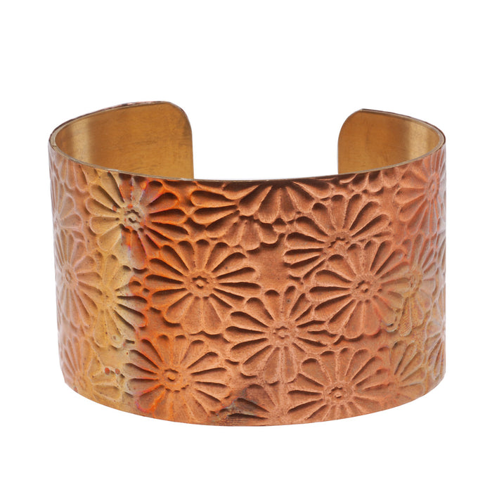 Retired - Embossed Floral Cuff