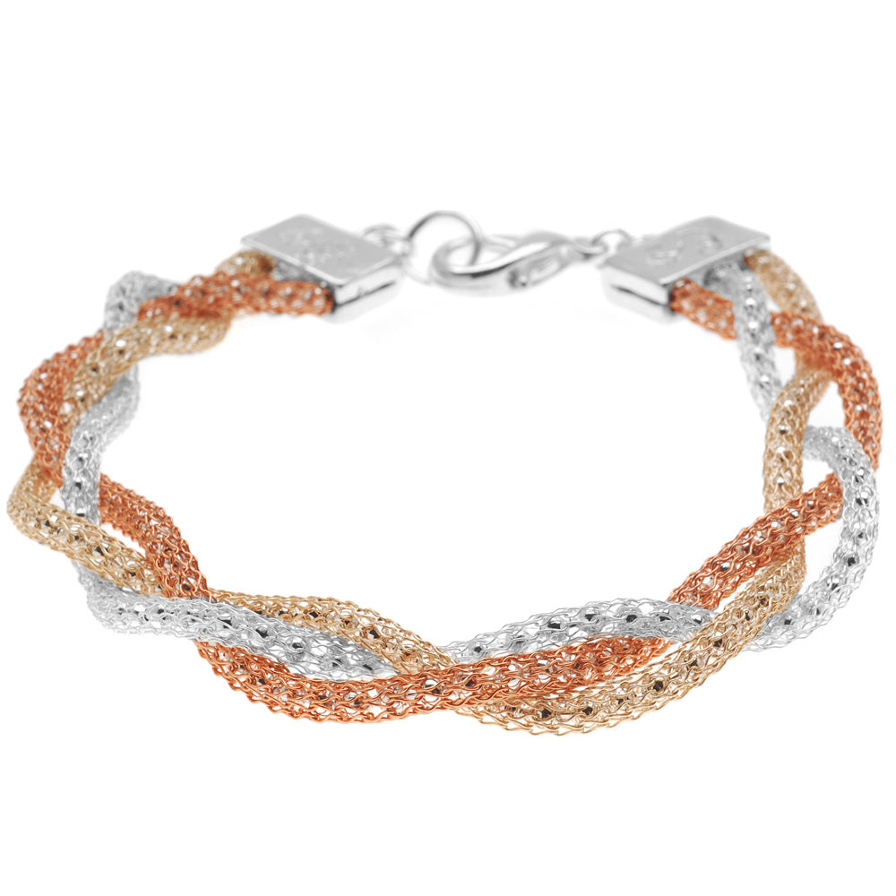 Retired - Braided Silk Bracelet
