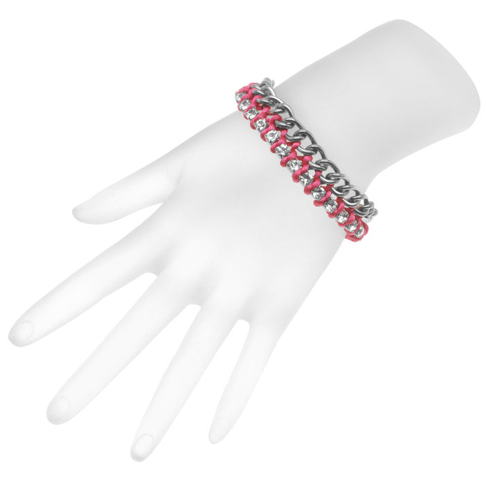 Alexa Bracelet in Hot Pink