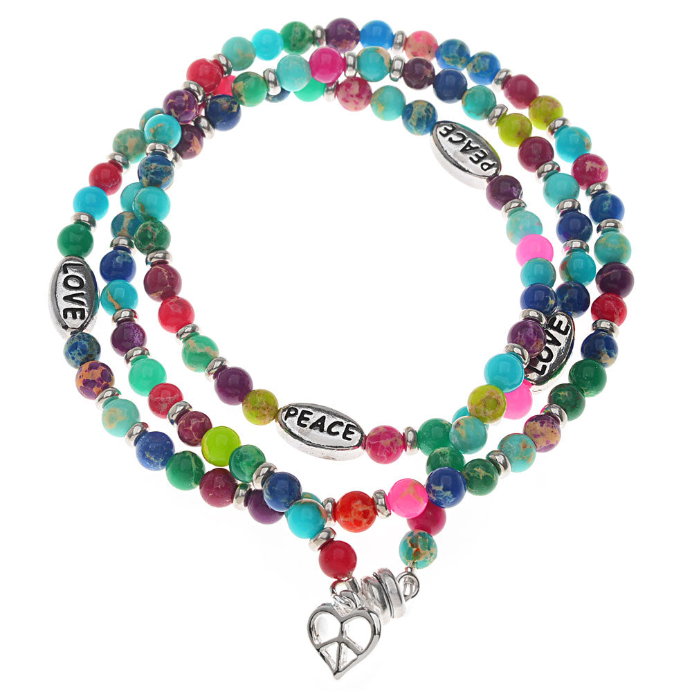Retired - Peace and Love Bracelet