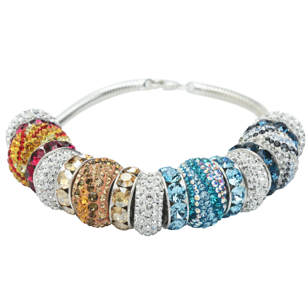 Retired - Majestic Elements Swarovski Crystal Bracelet