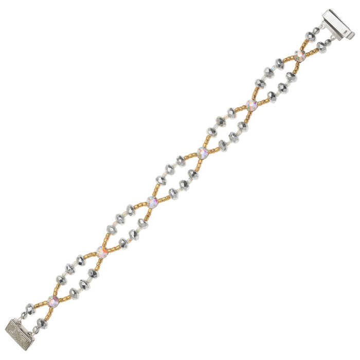 Retired - Glittering Gala Bracelet in Crystal Ice