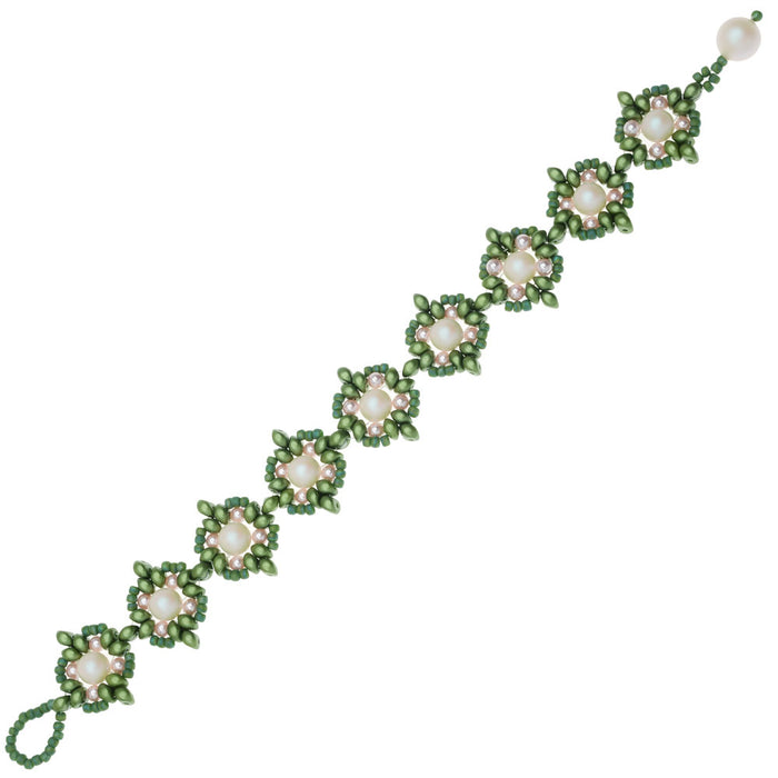 Portsmouth Bracelet in Greenery