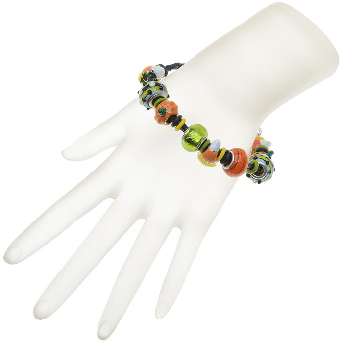 Retired - Trick or Treat European Style Halloween Bracelet