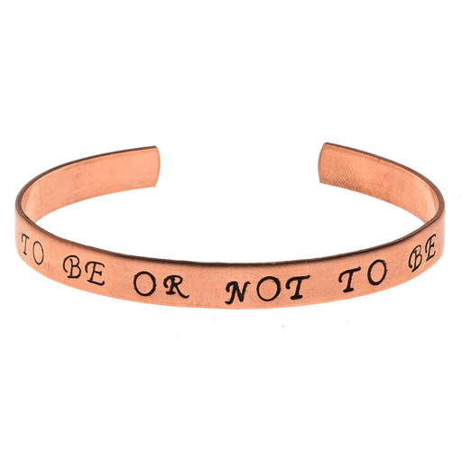 To Be or Not to Be Bracelet