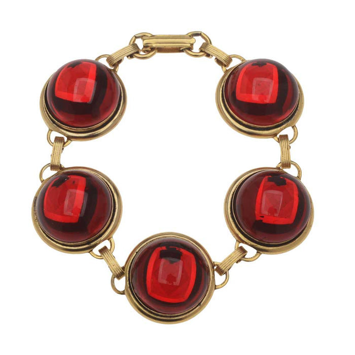 Retired - Luxe Ruby Red Bracelet