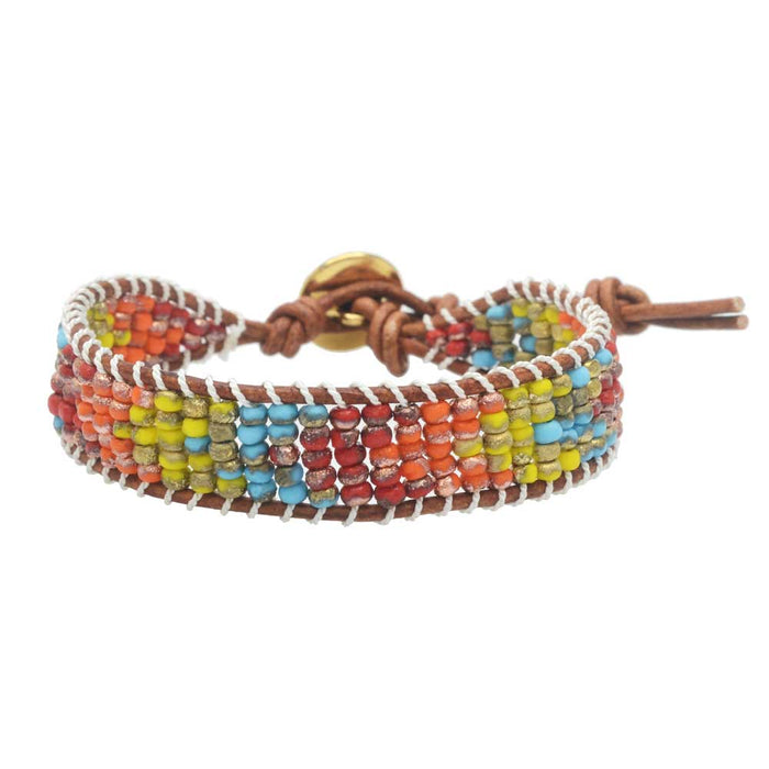 Mesa Gold Dust Wrapit Loom Bracelet