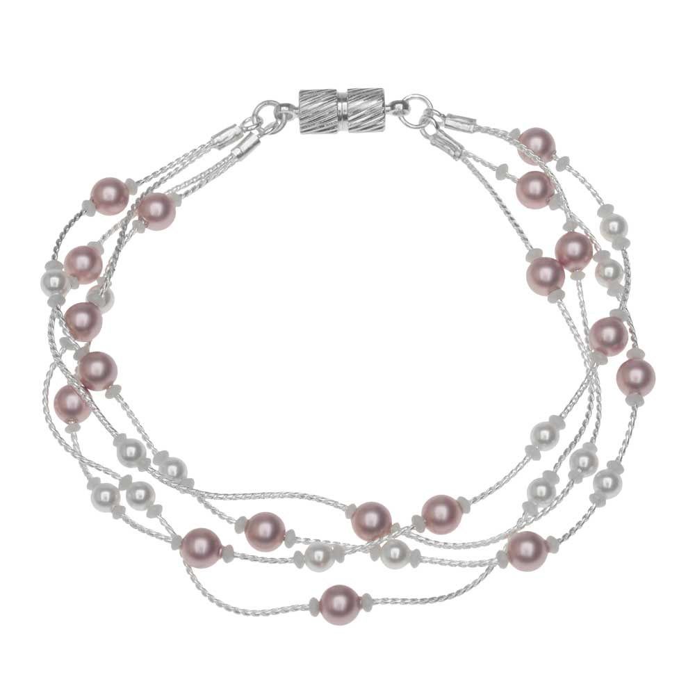 Powder Rose Bracelet - View the Project