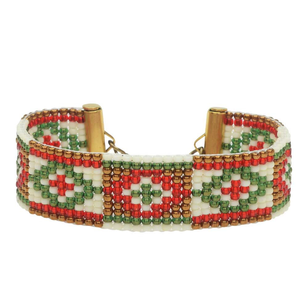 Christmas in Taos Loom Bracelet