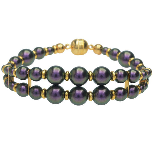 Windsor Bracelet in Iridescent Purple