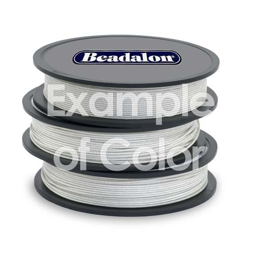 Beadalon Beading Wire Silver Color 7 Strand .018 Inch / 30Ft