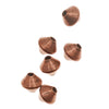 Genuine Antiqued Copper Bicone Beads 3.2mm (50)