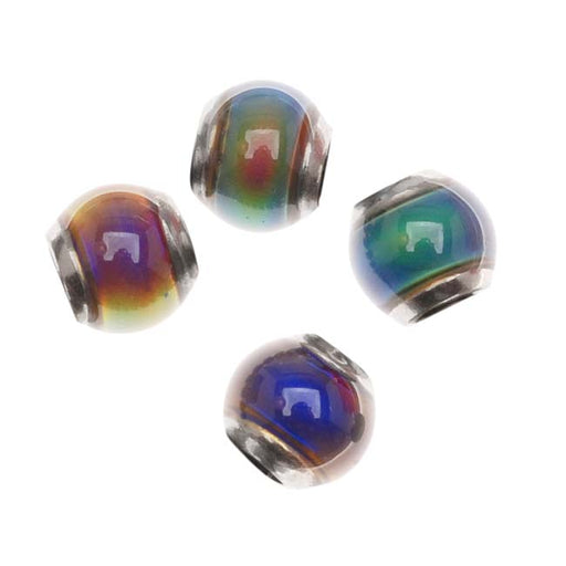 Mirage Color Changing Mood Beads - Round Beads 6mm (4)