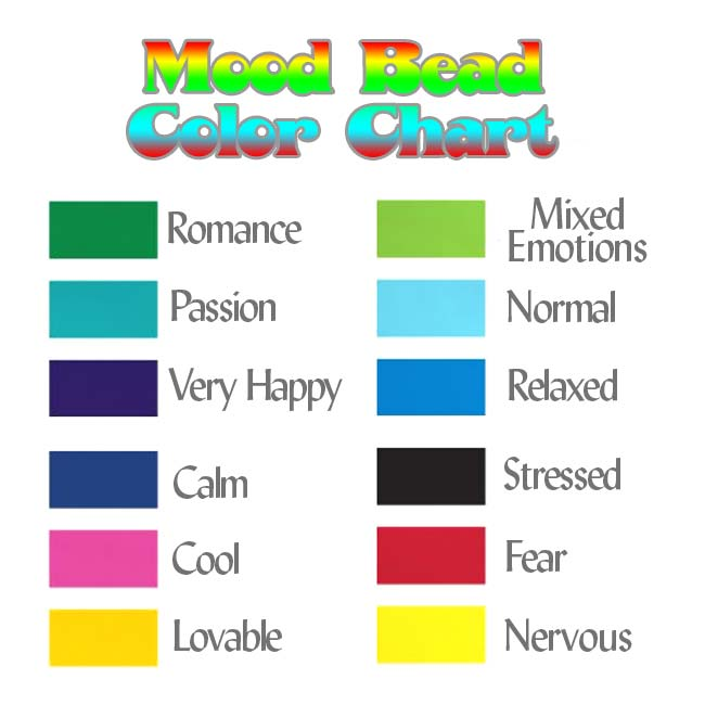 Mirage Color Changing Mood Beads - Glow Nouveau 17.5x8.5mm (2)