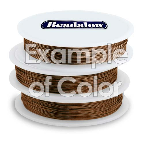 Beadalon Beading Wire Bronze 7 Strand .015 Inch / 30Ft