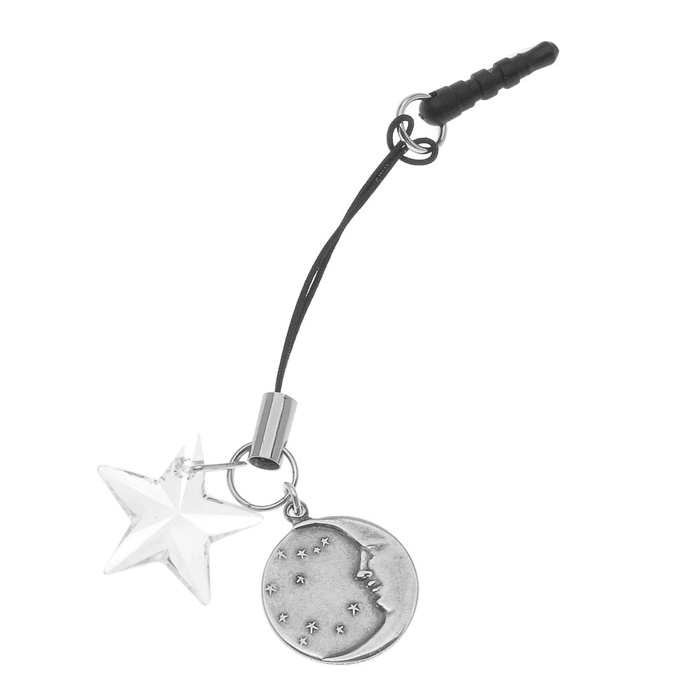 Retired - Goodnight Moon Cell Charm with Smartphone Adapter