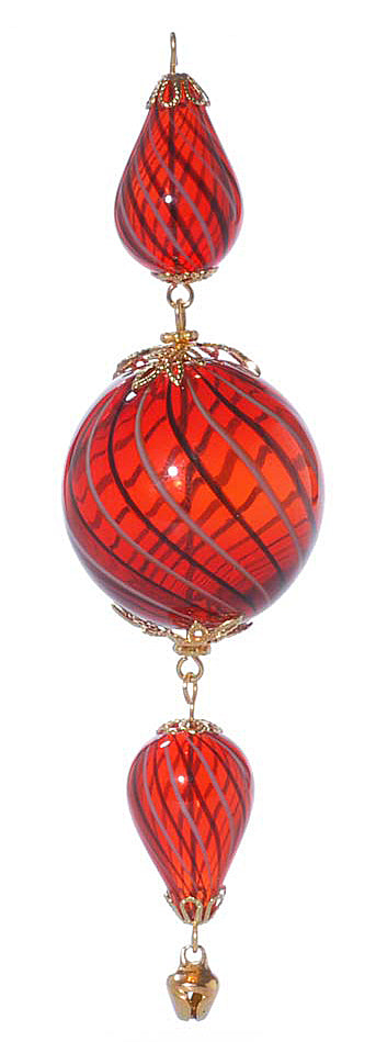 Retired - Gold and Red Heirloom Ornament
