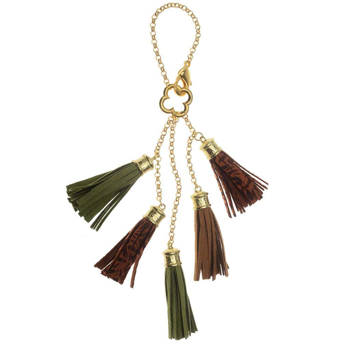 Retired - Tumbling Tassels Purse Charm