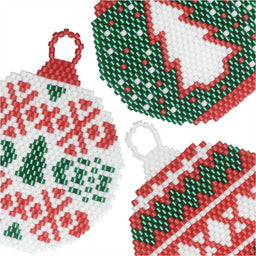 Brick Stitch Ornaments