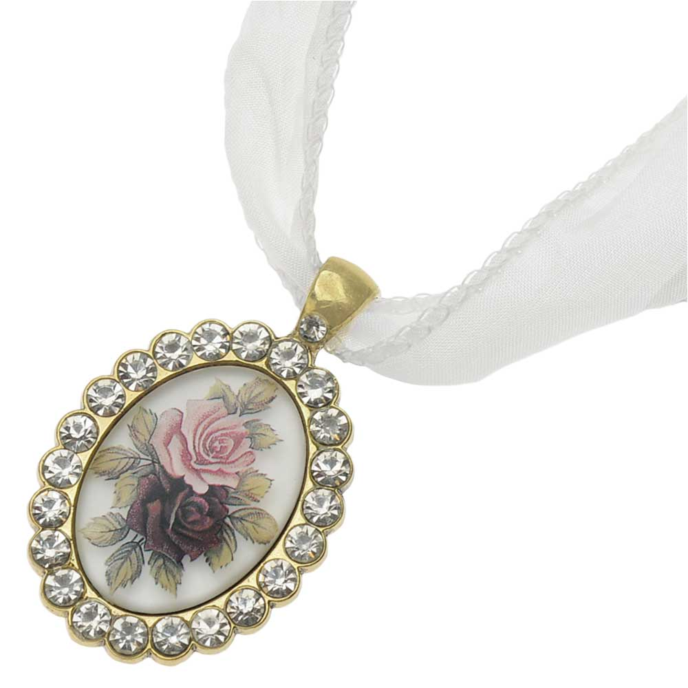 Retired - Vintage Style Bridal Bouquet Charm