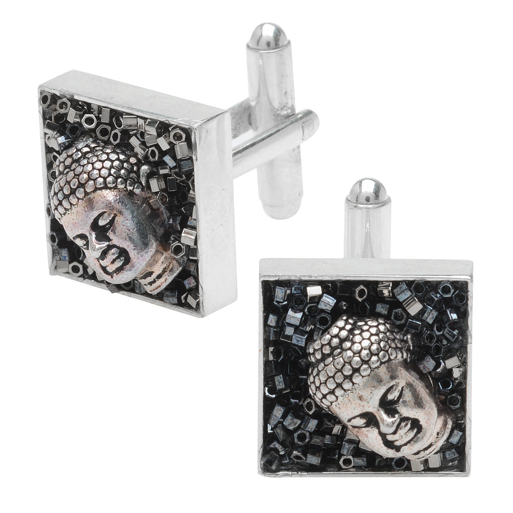 Retired - Men's Buddha Cufflinks
