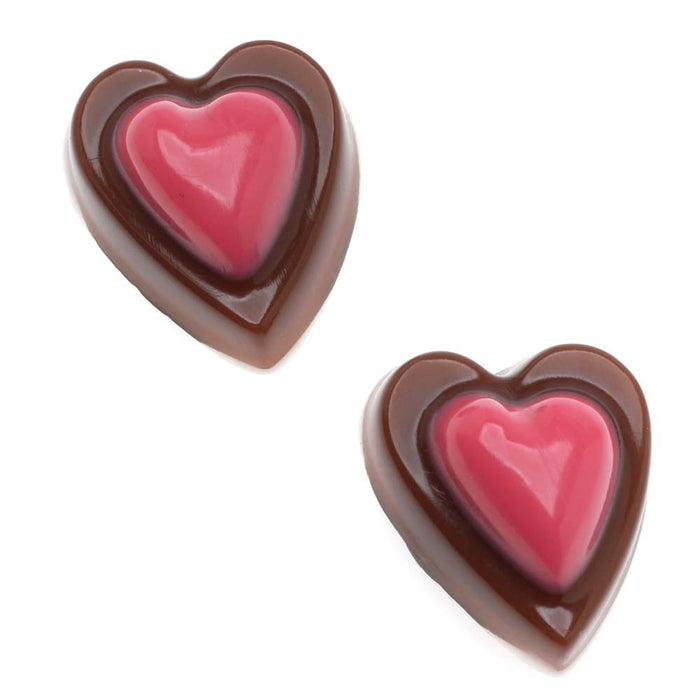 Retired - 'Chocolate' Hearts Magnet Set