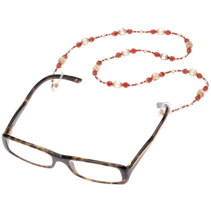 Retired -  Beaded 2-loop Eyeglass Holder