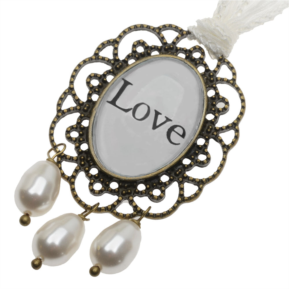 Retired - Everlasting Love Bridal Bouquet Charm