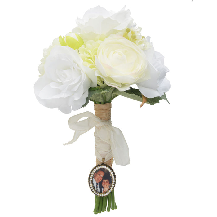 Retired - Down the Aisle Bridal Bouquet Charm