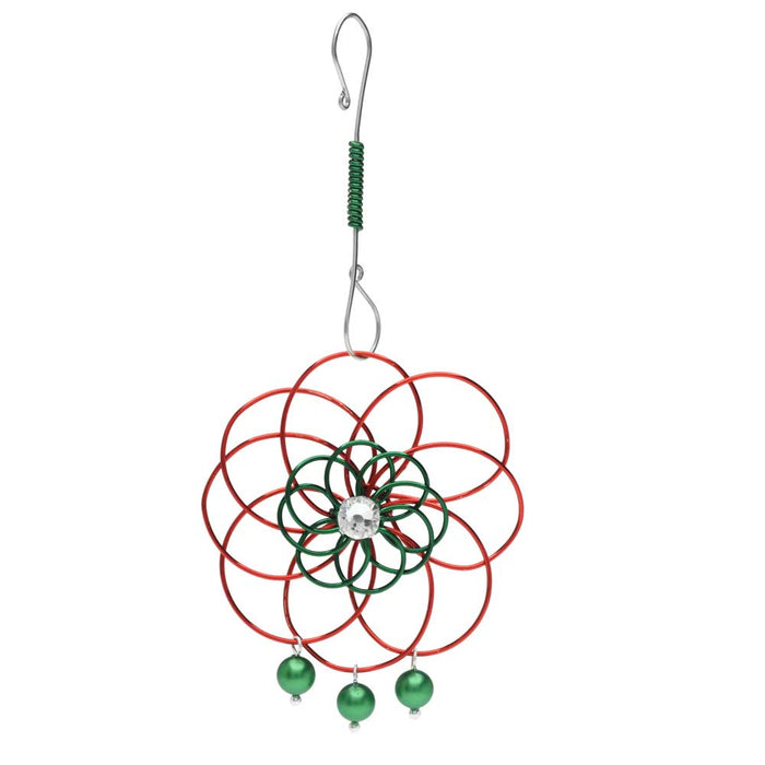 Christmas Flower Ornament