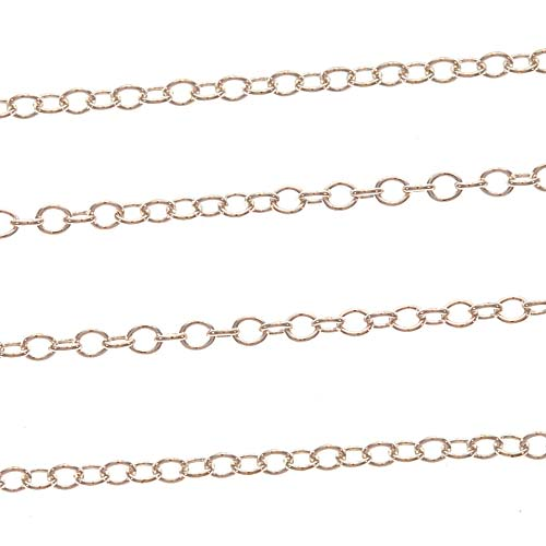 Sterling Silver Cable Chain, 2mm, by the Foot