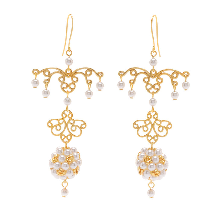 Retired - Grand Ballroom Bridal Earrings
