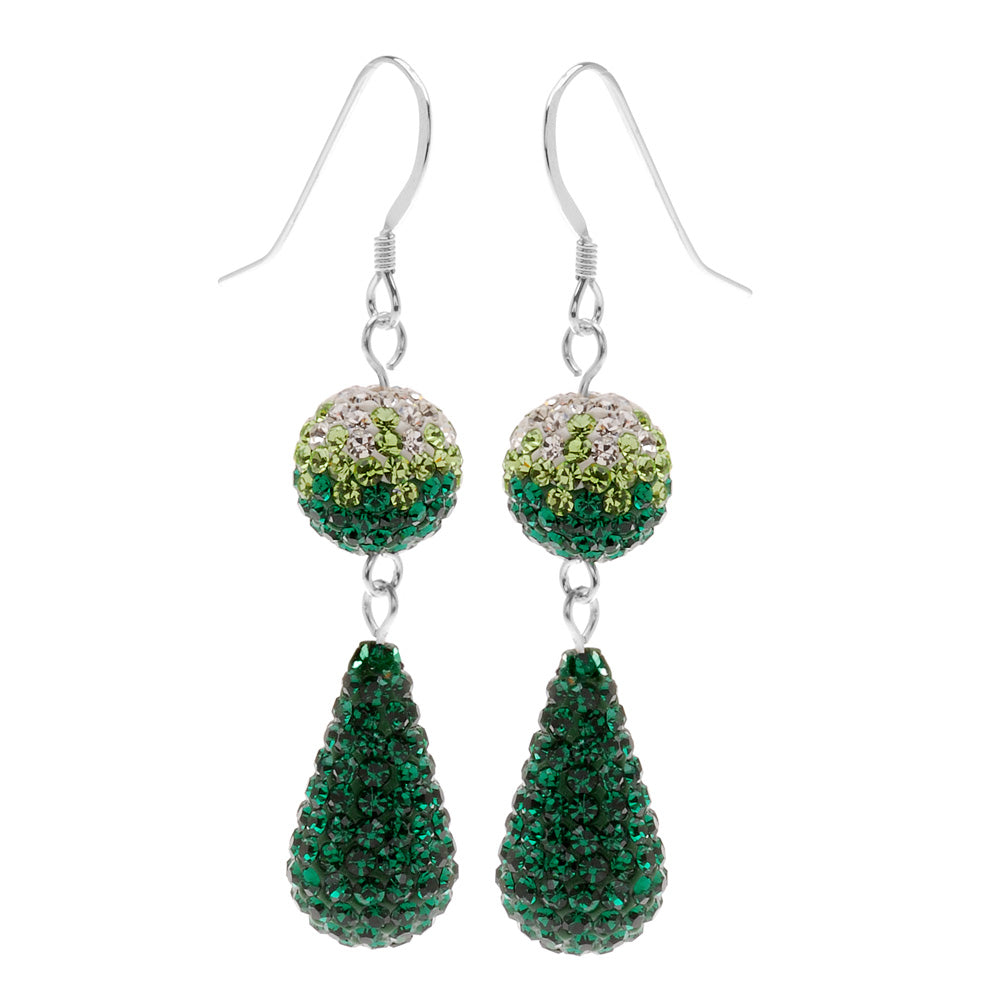 Retired - Emerald Evening Earrings