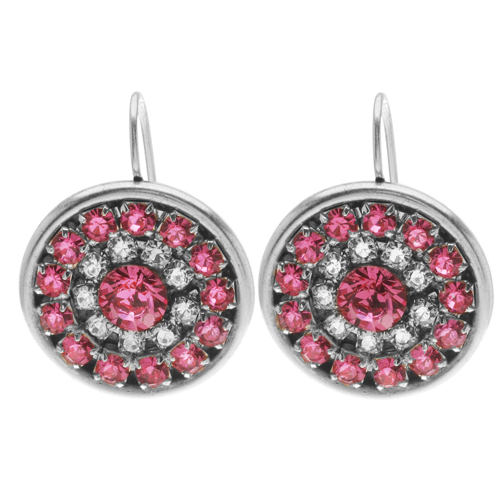 Desi Earrings in Rose