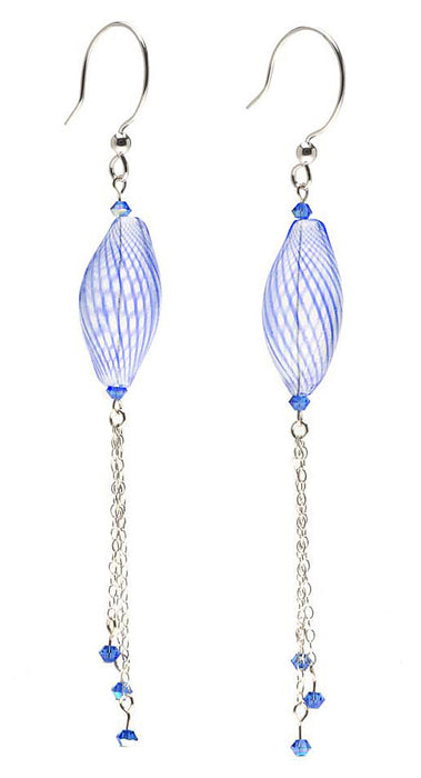 Retired - Blue Jellyfish Earrings