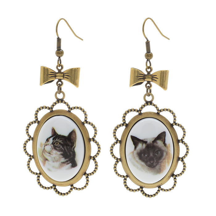 Retired - Fanceh Kitteh Earrings