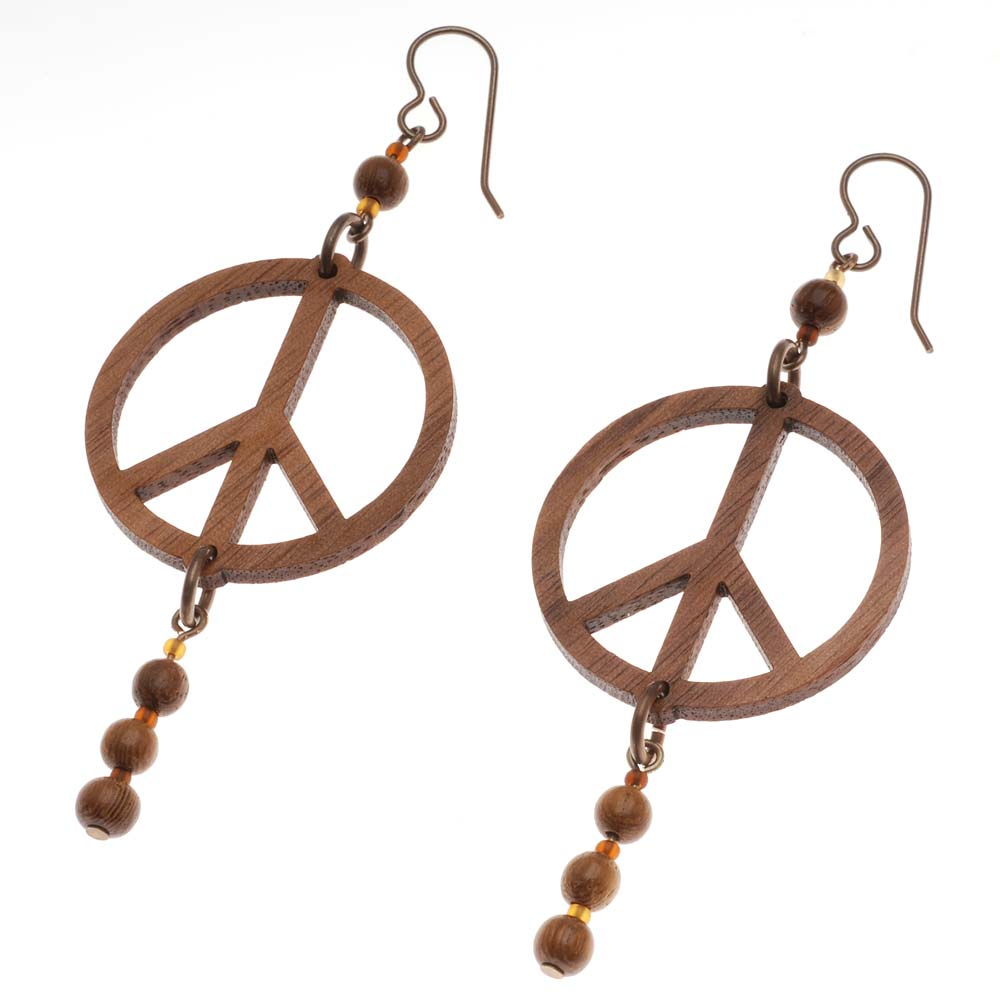 Retired - Peace Earrings
