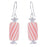 Retired - Peppermint Candy Roll Earrings
