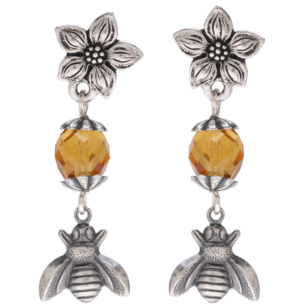 Retired - Honey, Bee Mine Earrings