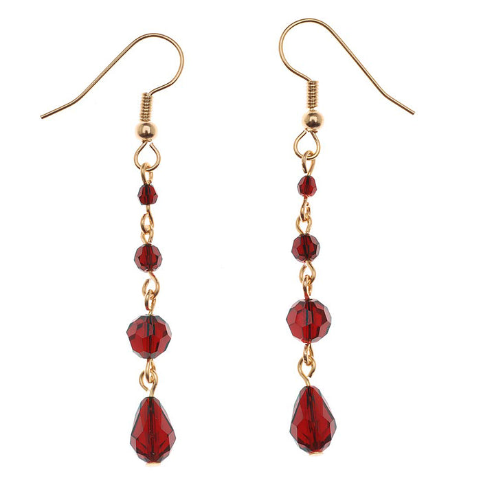 Retired - Drops of Blood Earrings