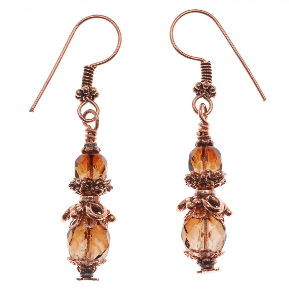 Retired - Copper Lady Earrings